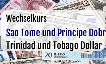 Sao Tome und Principe Dobra in Trinidad und Tobago Dollar
