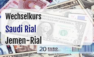 Saudi Rial in Jemen-Rial