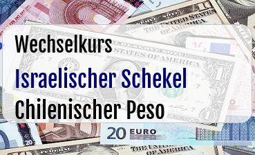 Israelischer Schekel in Chilenischer Peso