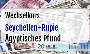 Seychellen-Rupie in Ägyptisches Pfund