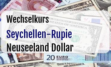 Seychellen-Rupie in Neuseeland Dollar