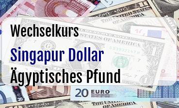 Singapur Dollar in Ägyptisches Pfund