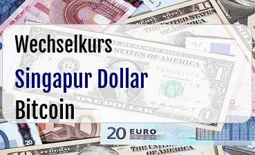 Singapur Dollar in Bitcoin