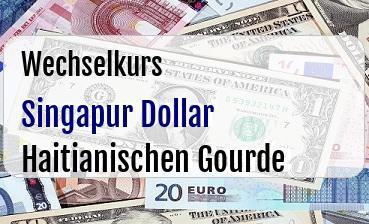 Singapur Dollar in Haitianischen Gourde