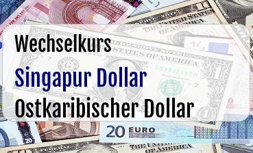 Singapur Dollar in Ostkaribischer Dollar