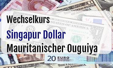 Singapur Dollar in Mauritanischer Ouguiya