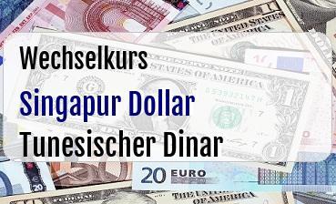 Singapur Dollar in Tunesischer Dinar