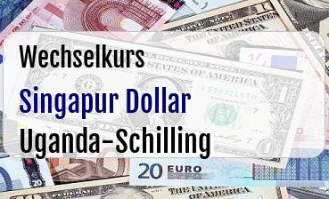 Singapur Dollar in Uganda-Schilling