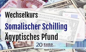 Somalischer Schilling in Ägyptisches Pfund