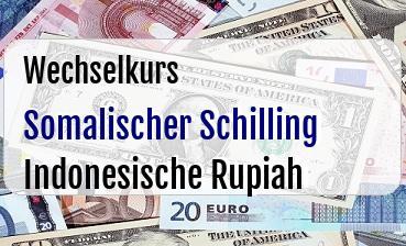 Somalischer Schilling in Indonesische Rupiah