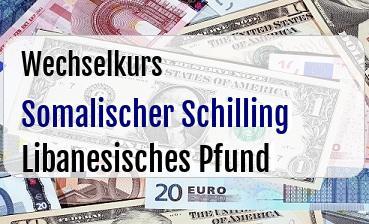 Somalischer Schilling in Libanesisches Pfund