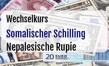 Somalischer Schilling in Nepalesische Rupie