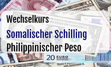 Somalischer Schilling in Philippinischer Peso