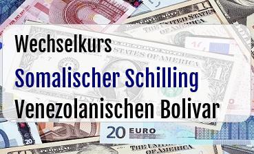 Somalischer Schilling in Venezolanischen Bolivar