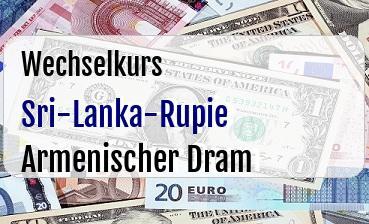 Sri-Lanka-Rupie in Armenischer Dram
