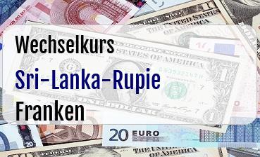 Sri-Lanka-Rupie in Schweizer Franken