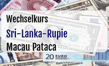Sri-Lanka-Rupie in Macau Pataca