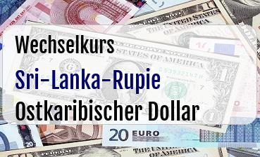 Sri-Lanka-Rupie in Ostkaribischer Dollar