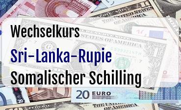 Sri-Lanka-Rupie in Somalischer Schilling