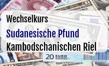 Sudanesische Pfund in Kambodschanischen Riel