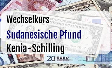Sudanesische Pfund in Kenia-Schilling