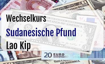 Sudanesische Pfund in Lao Kip