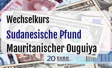 Sudanesische Pfund in Mauritanischer Ouguiya