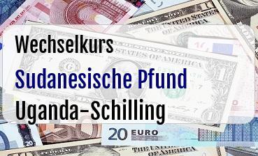 Sudanesische Pfund in Uganda-Schilling