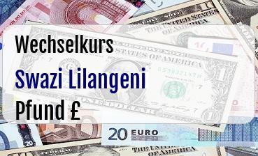 Swazi Lilangeni in Britische Pfund