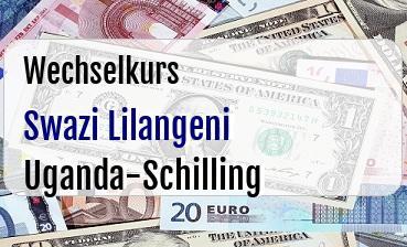Swazi Lilangeni in Uganda-Schilling