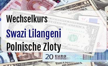 Swazi Lilangeni in Polnische Zloty