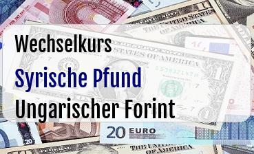Syrische Pfund in Ungarischer Forint