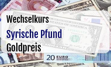 Syrische Pfund in Goldpreis