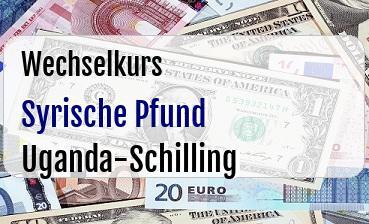 Syrische Pfund in Uganda-Schilling