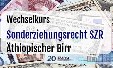 Sonderziehungsrecht SZR in Äthiopischer Birr