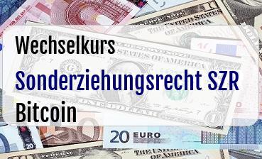 Sonderziehungsrecht SZR in Bitcoin