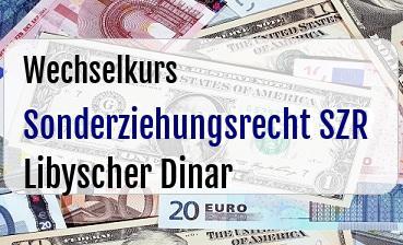 Sonderziehungsrecht SZR in Libyscher Dinar