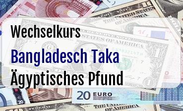 Bangladesch Taka in Ägyptisches Pfund