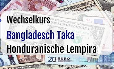 Bangladesch Taka in Honduranische Lempira