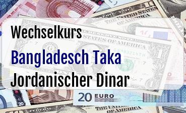 Bangladesch Taka in Jordanischer Dinar