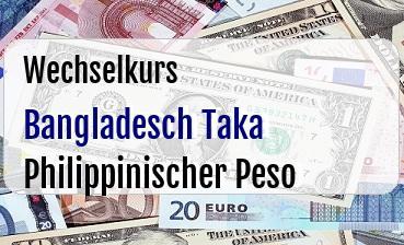 Bangladesch Taka in Philippinischer Peso