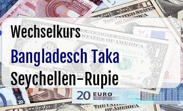Bangladesch Taka in Seychellen-Rupie