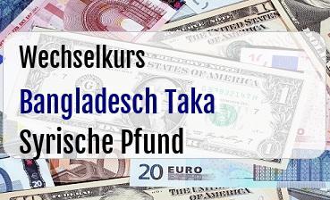 Bangladesch Taka in Syrische Pfund
