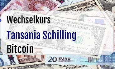 Tansania Schilling in Bitcoin