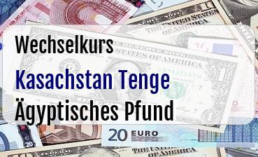 Kasachstan Tenge in Ägyptisches Pfund