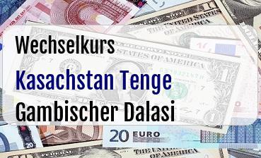 Kasachstan Tenge in Gambischer Dalasi