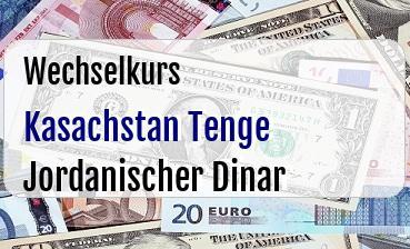 Kasachstan Tenge in Jordanischer Dinar