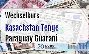 Kasachstan Tenge in Paraguay Guarani