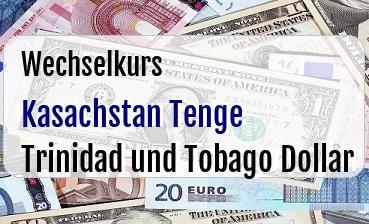 Kasachstan Tenge in Trinidad und Tobago Dollar