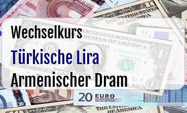 Türkische Lira in Armenischer Dram